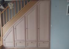 Agencement sous-escalier Maple