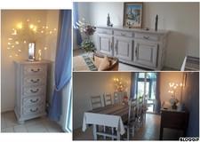 Relookage ensemble meubles salle à manger