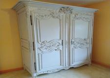 Relookage armoire normande