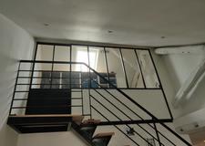 Agencement d'une chambre avec dressing fermé par verrière