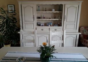 Relookage de mobilier de salle à manger